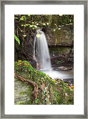 Micro Waterfall Framed Print