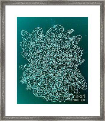 Microbe Maybe Framed Print