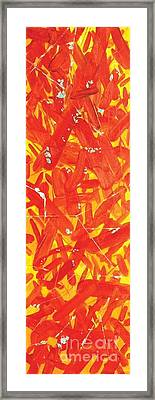 Microbes Framed Print by Chris Irwin Walker