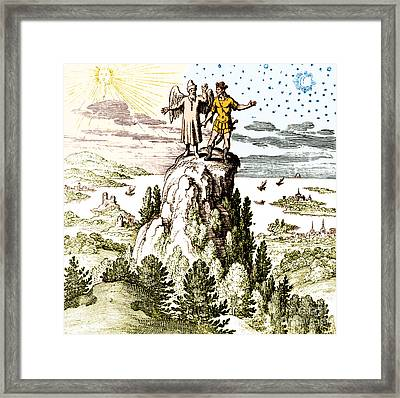 Microcosm Macrocosm 17th Century Framed Print by Nlm