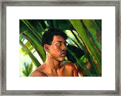 Micronesia Framed Print by Douglas Simonson