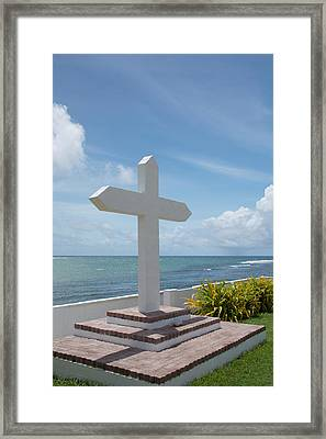 Micronesia, Mariana Islands Framed Print