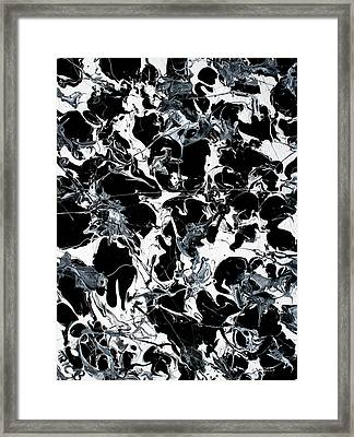 Microscopic Alien Fish Are Eating Away At My Brain Framed Print