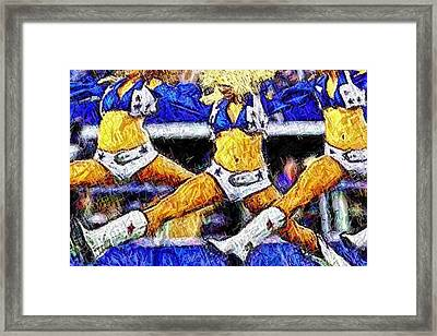 Mid Air Splits Framed Print