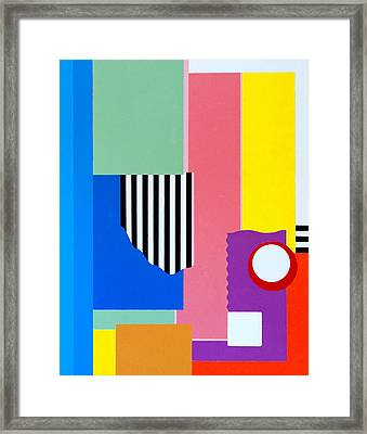Mid Century Compromise Framed Print