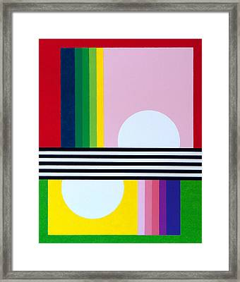 Mid Century Resolution Framed Print by Thomas Gronowski