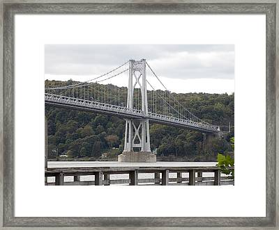 Mid Hudson Bridge Framed Print