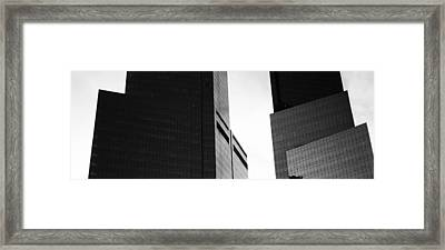 Mid Section View Of Buildings, Time Framed Print by Panoramic Images