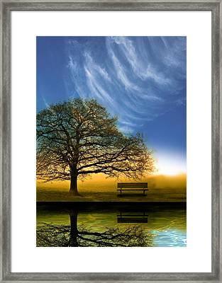 Midday Framed Print by Mark Rogan
