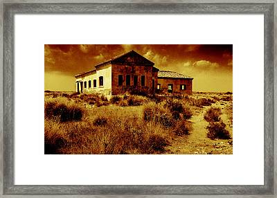Midday Sanctuary Framed Print by Julian Cook