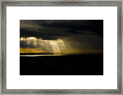 Midday Storm Framed Print by Emilio Lopez