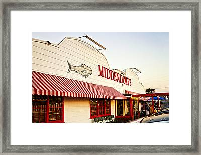 Middendorf's Framed Print by Scott Pellegrin