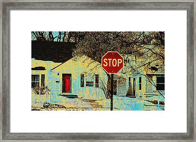 Home In The Midwest Framed Print