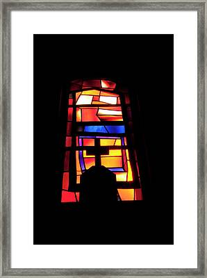Middle East, Israel, Galilee, Nazareth Framed Print
