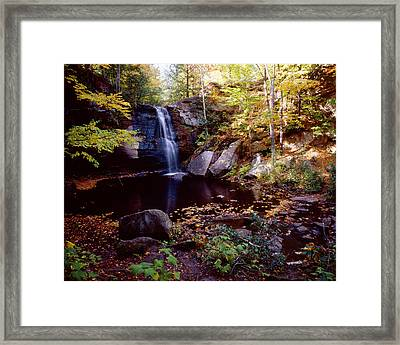 Middle Hungarian Falls Framed Print by Tim Hawkins