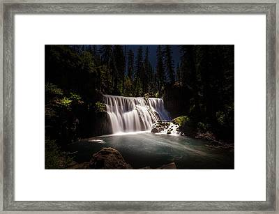 Middle Mccloud Falls Framed Print by Scott McGuire