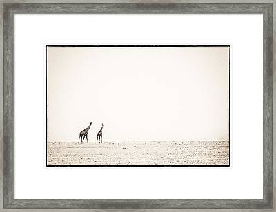 Middle Of Nowhere 3 Framed Print by Mike Gaudaur