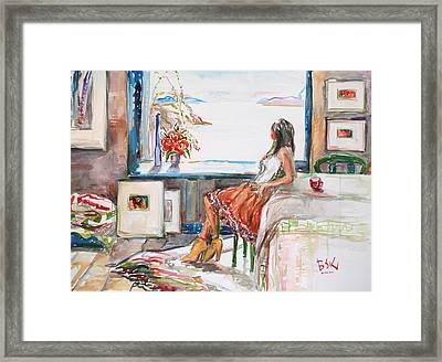 Middle Of The Day Framed Print