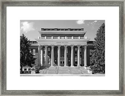 Middle Tennessee State Kirksey Old Main Framed Print by University Icons