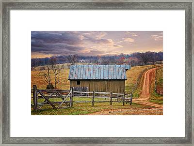Middleburg Virginia Countryside Framed Print
