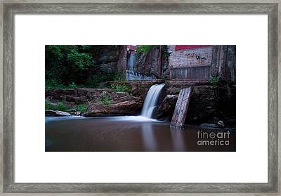 Middlebury Falls. Framed Print