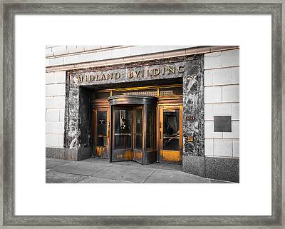 Midland Building Framed Print