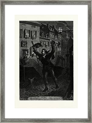 Midnight And Cornwallis Is Taken Framed Print