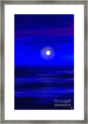Midnight Framed Print by Anita Lewis