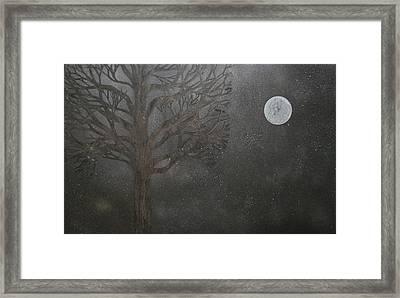 Midnight Calm Framed Print by Drew Shourd
