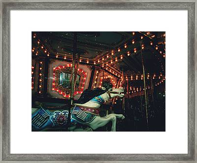 Framed Print featuring the photograph Midnight Dream by Rachel Mirror