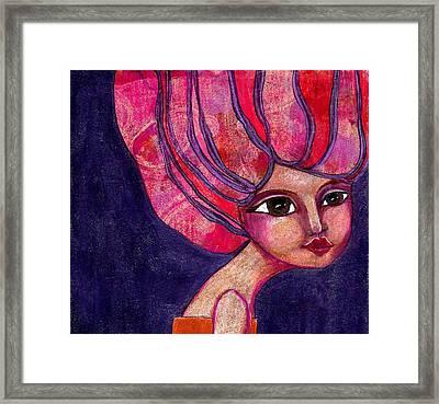Midnight Dreamer Framed Print by Lisa Noneman