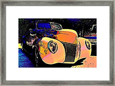 Midnight Driver Framed Print