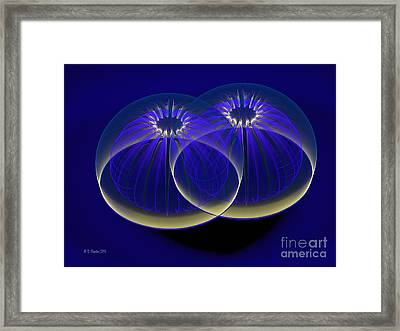Midnight Embrace Framed Print
