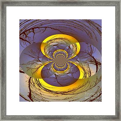 Midnight Energy Framed Print by Mj Petrucci