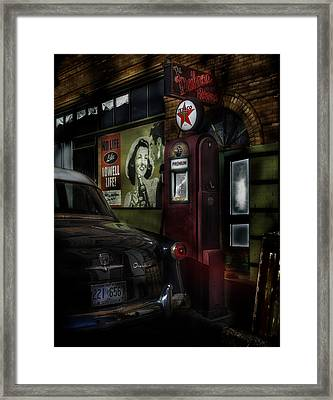 Midnight Fill Up Framed Print