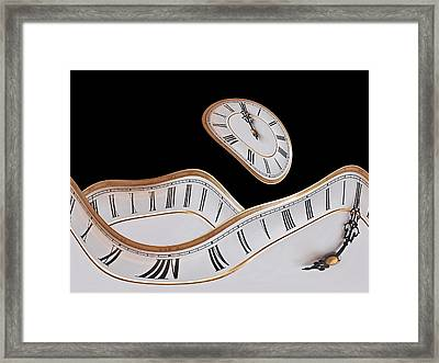 Midnight Hallucinations Framed Print by Gill Billington