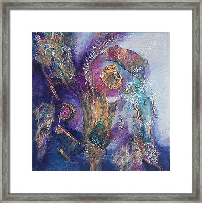 Midnight In The Enchanted Forest Framed Print