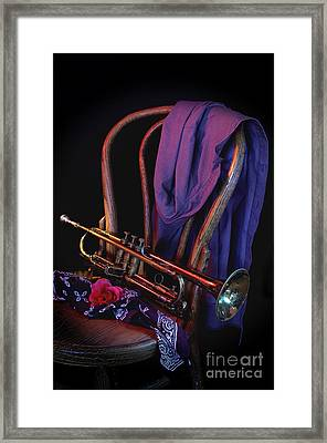 Midnight Interlude Framed Print by The Stone Age