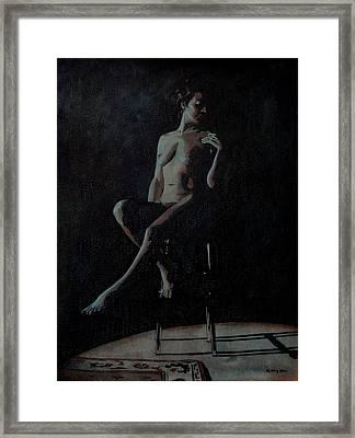 Midnight Framed Print by Jo King
