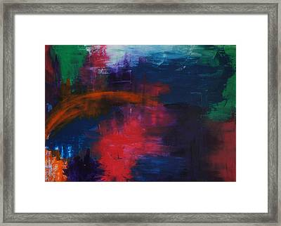 Midnight Framed Print by Kristine Bogdanovich