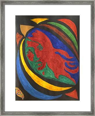 Lady Midnight  Framed Print by Stormm Bradshaw