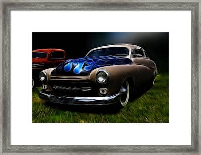 Midnight Merc Framed Print by Steve McKinzie