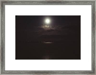 Midnight Moon Framed Print