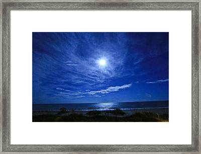 Midnight Moon Framed Print