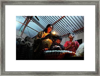 Midnight Prayer Framed Print