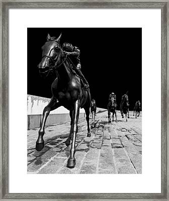 Midnight Ride Framed Print by Wendell Thompson