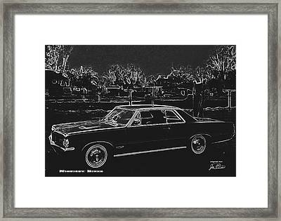 Midnight Rider Framed Print