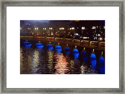 Midnight Romance Framed Print by Audrey Gagnon