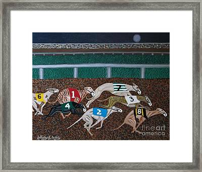 Midnight Run Framed Print by Anthony Morris