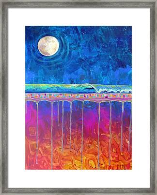 Midnight Run Framed Print by Dawn Gray Moraga